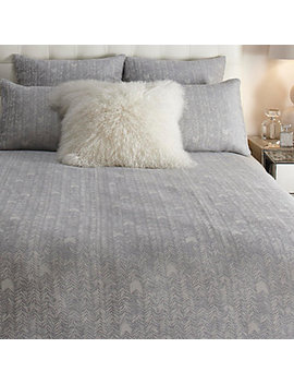 Loren Bedding   Silver by Z Gallerie
