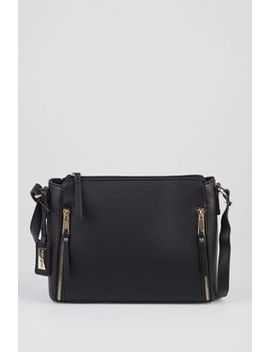 Laura Jones Side Zips Crossbody Bag by Strandbags