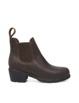 Jessilyn Waterproof Brown Leather by Steve Madden