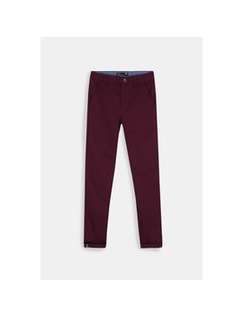 Skinny Fit Chino Pants by Mrp