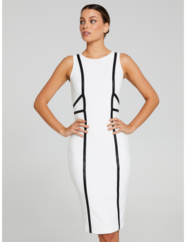 The Expert Spliced City Dress by Portmans