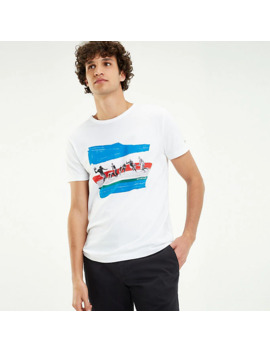 American Football Photo Print T Shirt by Tommy Hilfiger