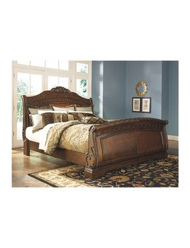 North Shore Queen Sleigh Bed by Ashley Homestore