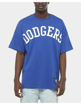Majestic Athletic Los Angeles Dodgers Ranstead Oversized Tee Blue by Majestic Athletic