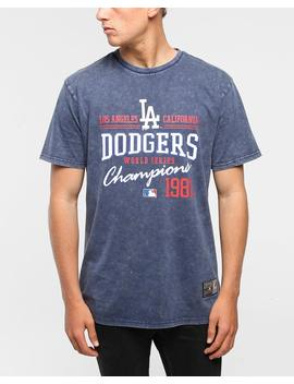 Majestic Athletic Los Angeles Dodgers Pemberton Stone Wash Navy by Majestic Athletic