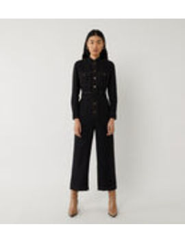 Topstitch Jumpsuit by Warehouse