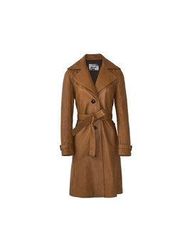 Massimo Dutti Women Trench Coat With Belt 4734/834 by Massimo Dutti