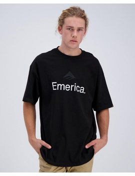 Skateboard Logo T Shirt by Emerica