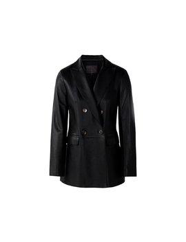 Massimo Dutti Women Black Nappa Blazer 4709/809 by Massimo Dutti