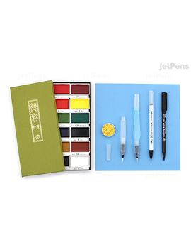Jet Pens Watercolor Calligraphy Starter Kit by Jet Pens