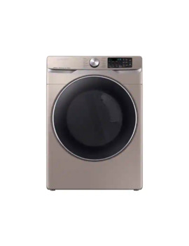 7.5 Cu. Ft. Smart Electric Dryer With Steam Sanitize+ In Champagne by Samsung