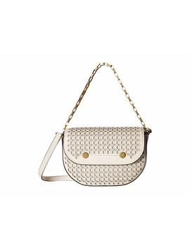 Laser Cut Leather Explorer Crossbody by J.Crew