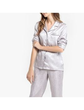 Pyjama En Satin Jacquard by La Redoute Collections