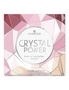 Essence Crystal Power Blush And Highlighter Palette Essence Crystal Power Blush And Highlighter Palette by Wilko