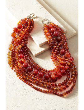Sania Amber Necklace by Soft Surroundings