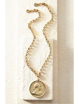 Garrick Coin Necklace by Soft Surroundings