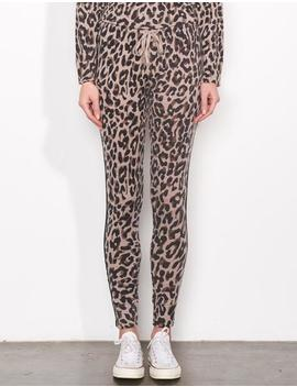 Leopard Cozy Sweatpant by Sundry Clothing
