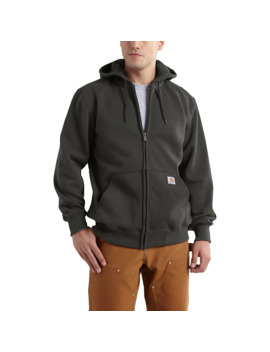Rain Defender® Paxton Heavyweight Hooded Zip Front Sweatshirt by Carhartt