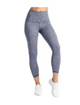 Signature Jersey Moss High Waisted 7/8 Yoga Leggings by Yoga Outlet
