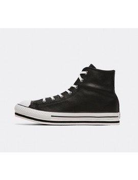 Junior Chuck Taylor All Star Platform Eva High Trainer   Black / White / Black by Converse