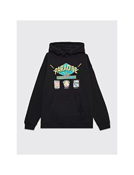 Paradise Flashdancers Hooded Sweatshirt Black by Très Bien