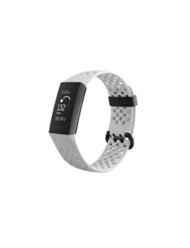 Fitbit   Charge 3 Special Edition Activity Tracker + Heart Rate   Graphite/White by Fitbit
