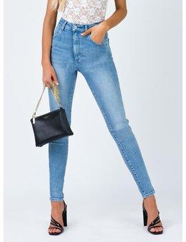 Wrangler Hi Pins Jeans Heaven Blue by Wrangler