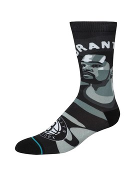 Kevin Durant Brooklyn Nets Stance Free Agents Crew Socks by Stance
