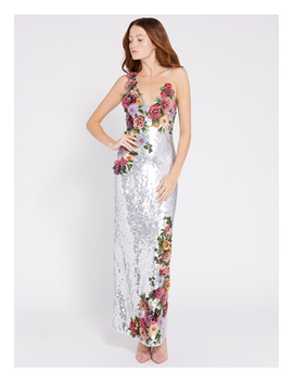 Francie Sequin Maxi Gown by Alice And Olivia
