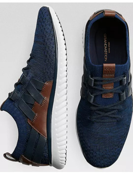 Cole Haan Grand MØtion Navy Stitchlite Lace Ups by Cole Haan