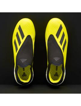 Adidas X Tango 18+ Tf   Solar Yellow/Core Black/White by Pro Direct Soccer