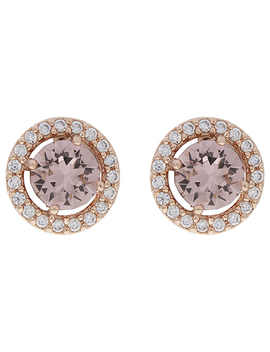 Sparkle Halo Stud Earrings With Swarovski® Crystals by Accessorize