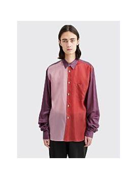 Comme Des Garçons Homme Plus Extended Sleeves Shirt Red / Purple by Très Bien