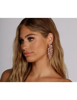 Bring The Drama Statement Earrings by Windsor