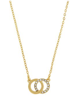 Links Pendant Necklace With Swarovski® Crystals by Accessorize