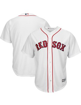Boston Red Sox Majestic Official Cool Base Jersey   White by Majestic