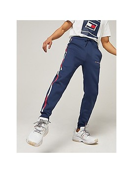 Logo Tape Track Pant by Tommy Hilfiger