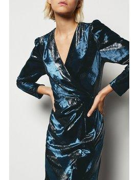 Metallic Velvet Dress Metallic Velvet Dress by Karen Millen