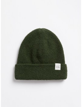 Knitted Beanie In Rosin by Frank & Oak