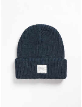Beanie In Navy by Frank & Oak