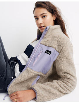 Madewell X Penfield® Mattawa Sherpa Fleece Jacket by Madewell