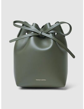 Mini Leather Bucket Bag by ‎Mansur Gavriel‎