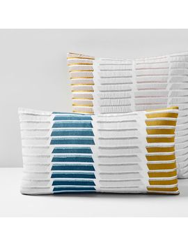 Stacked Lines Pillow Cover by West Elm
