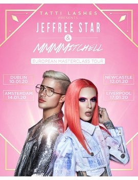 Tatti Lashes X Jeffree Star Masterclass Tour Dublin by Tatti Lashes
