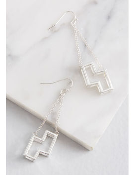 Mod Cloth X Tetris Well Played Earrings by Modcloth