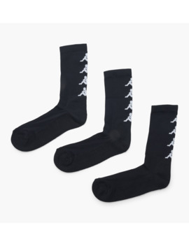 Authentic Amals 3 Pack Socks by Kappa