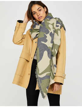 Appleton Blanket Scarf by Accessorize