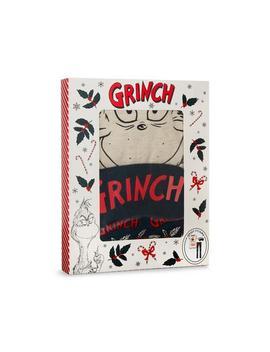 Grinch Jersey Pyjama Gift Box by Primark