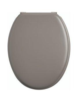 Wilko Grey Slow Close Toilet Seat Wilko Grey Slow Close Toilet Seat by Wilko