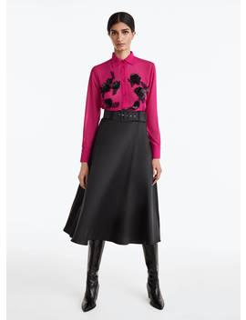 Pink Embellished Shirt by Uterqüe